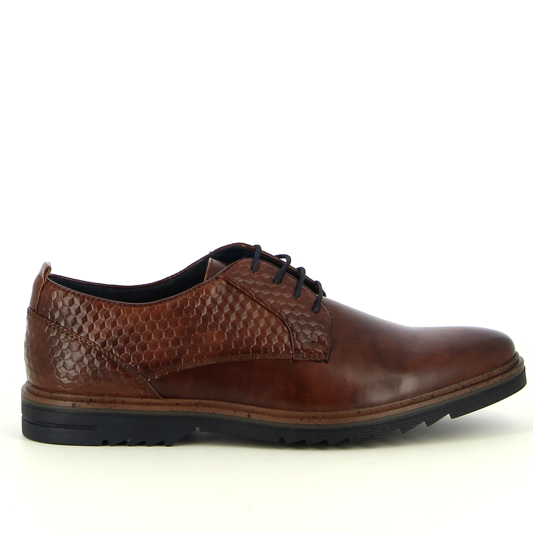 Ken Shoe Fashion - Bruin - Veterschoenen