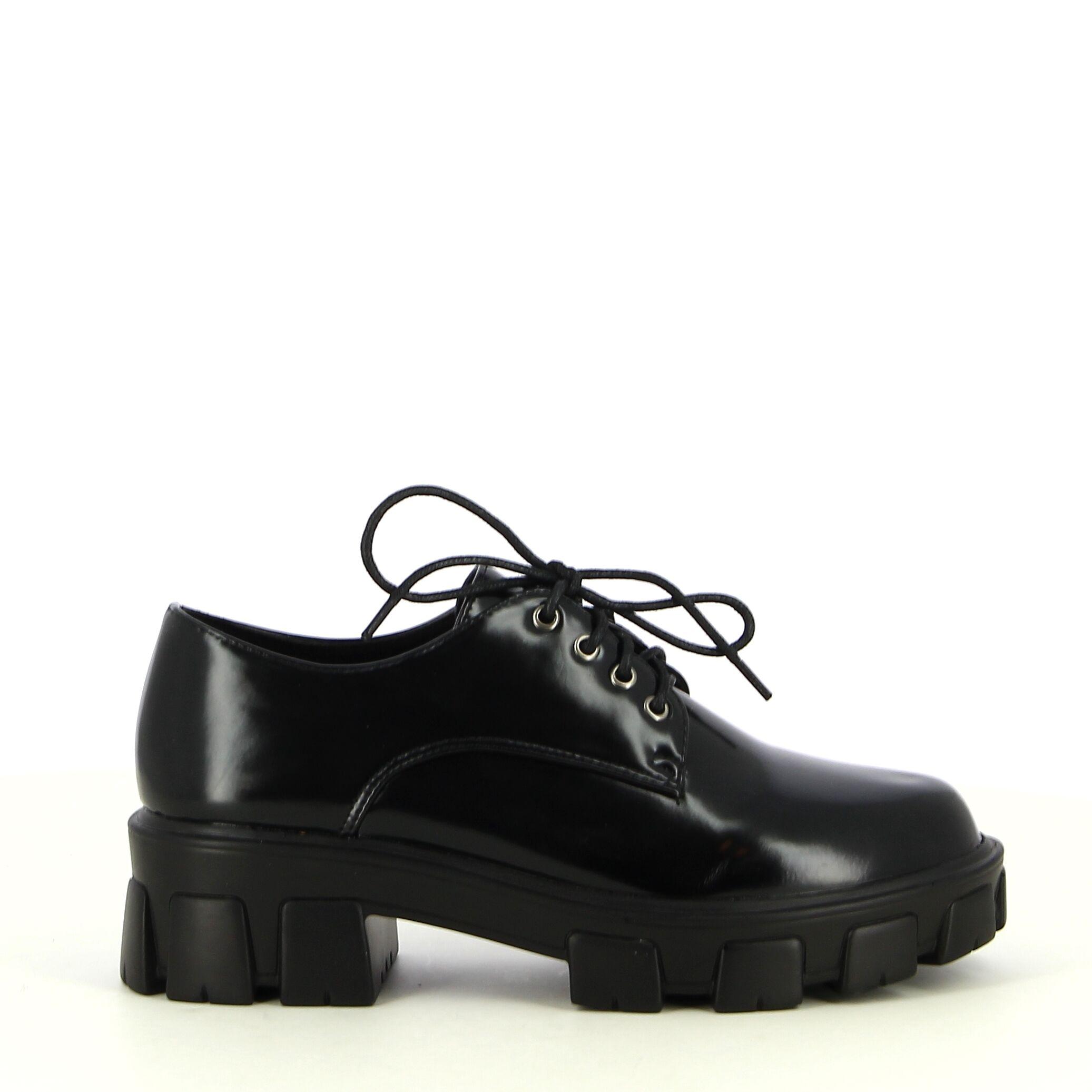 Ken Shoe Fashion - Noir - Chaussures A Lacets