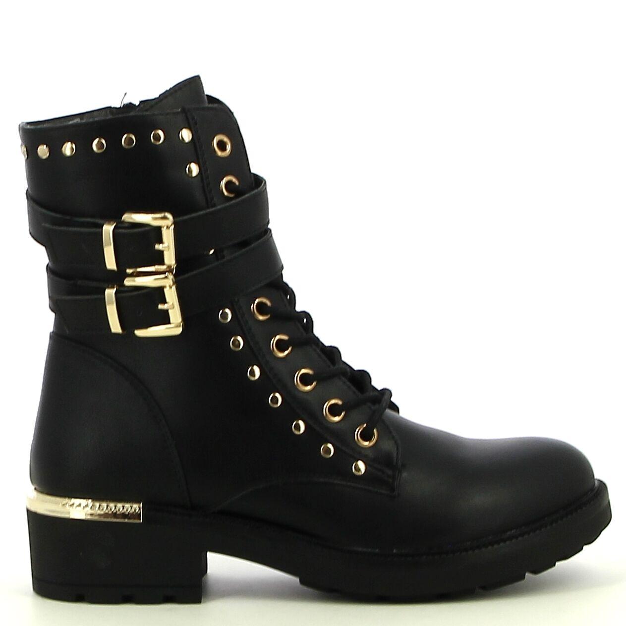 Ken Shoe Fashion - Noir - Bottines