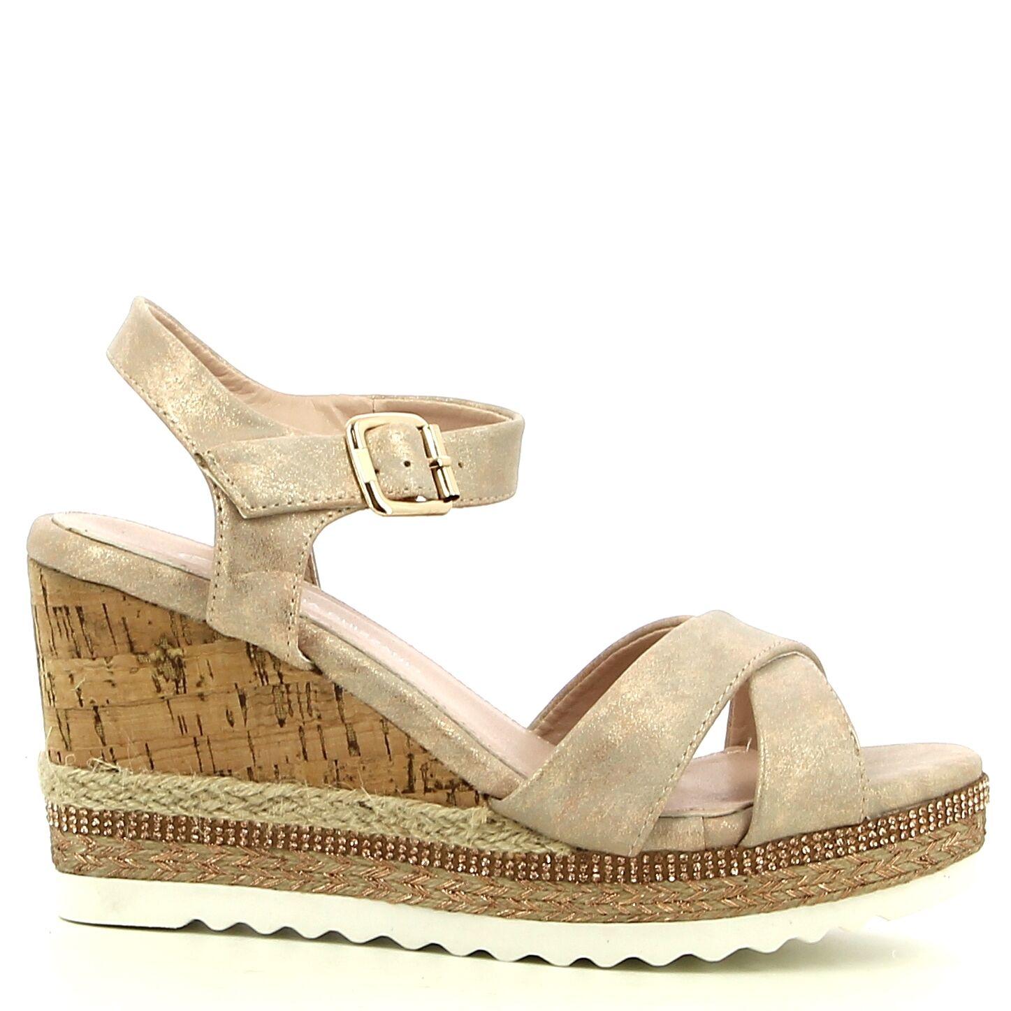 ken Shoe Fashion - Rosé goud - Sandalen