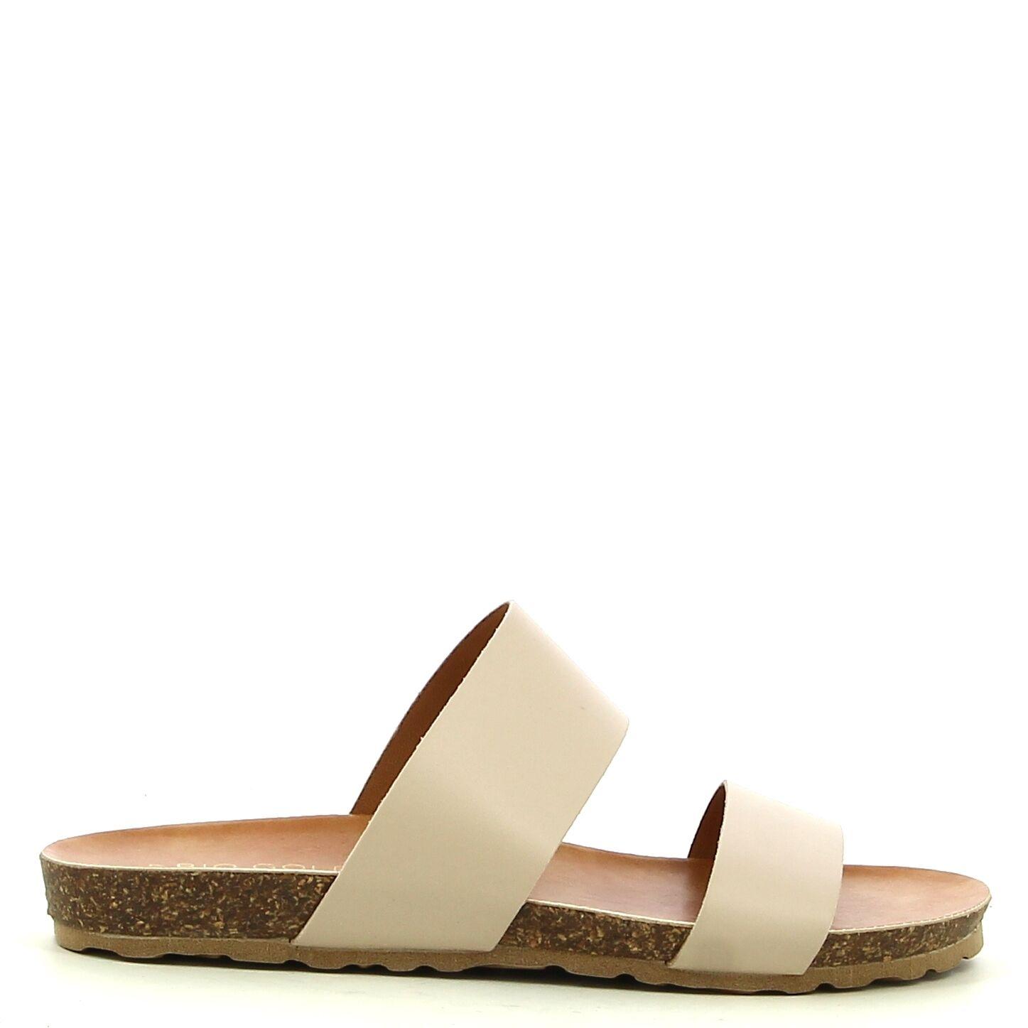 Ken Shoe Fashion - Beige - Slippers