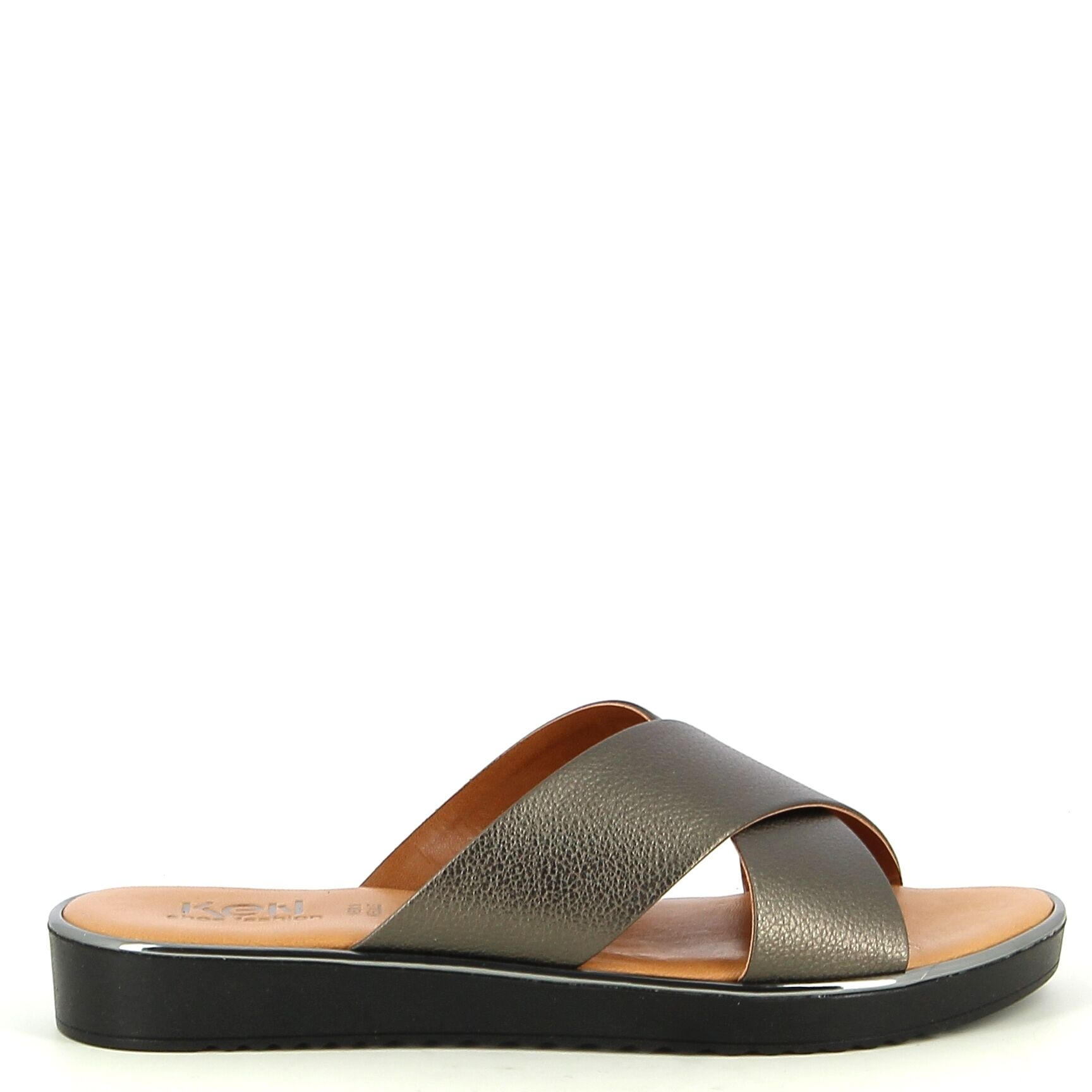 Ken Shoe Fashion - Chaussures Slip On - Plomb