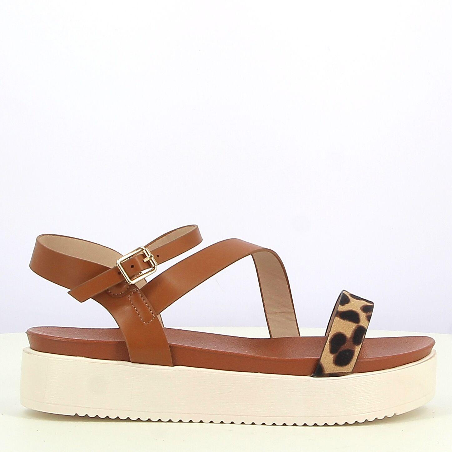 Ken Shoe Fashion - Sandales - Camel