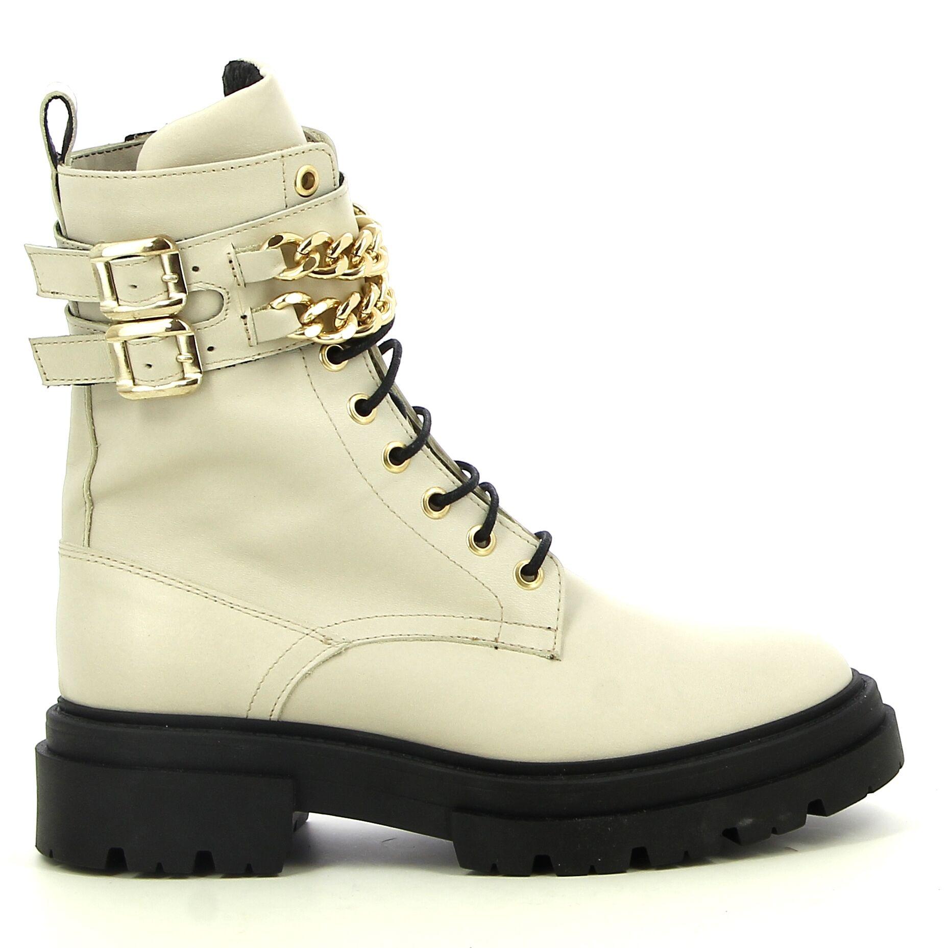 Ken Shoe Fashion - Blanc Cassé - Bottines