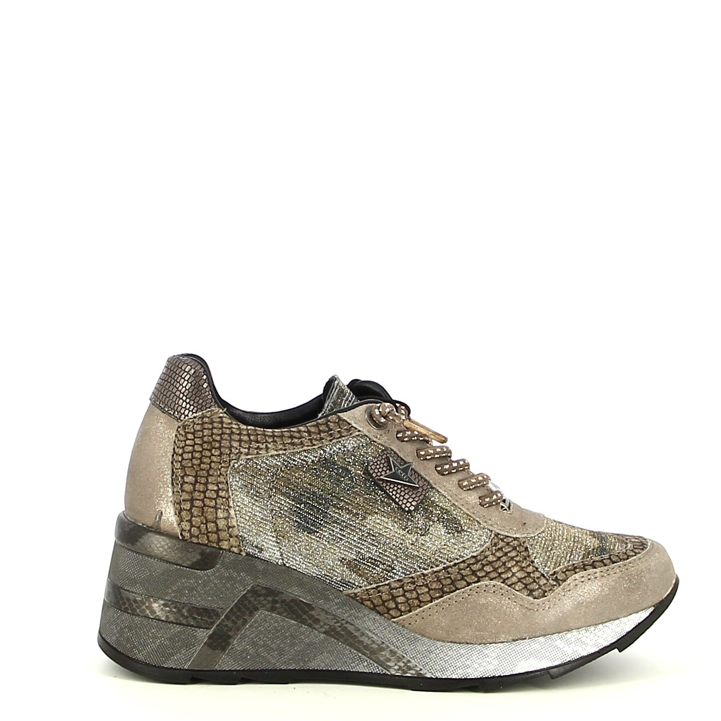 Cetti - Taupe - Baskets