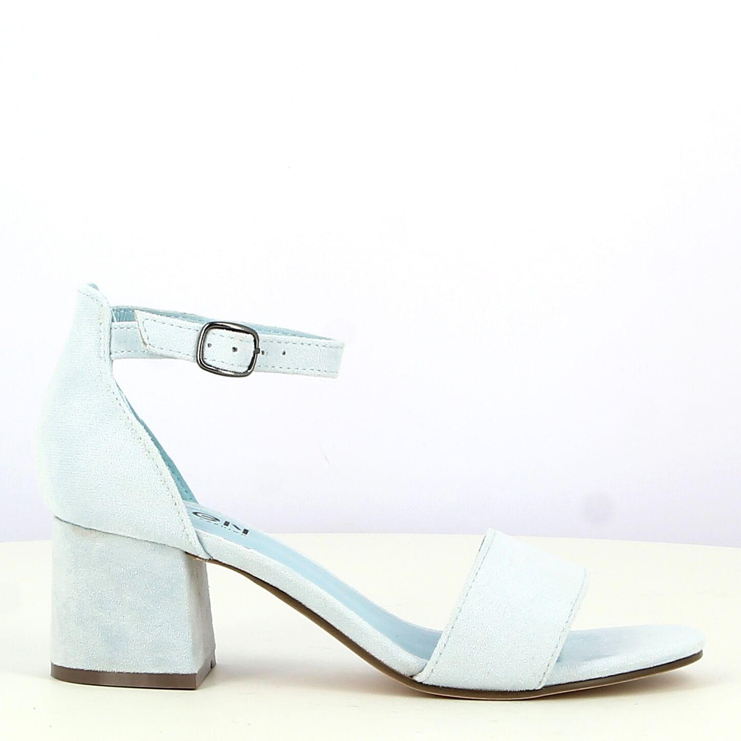 Ken Shoe Fashion - Licht Blauw - Sandalen