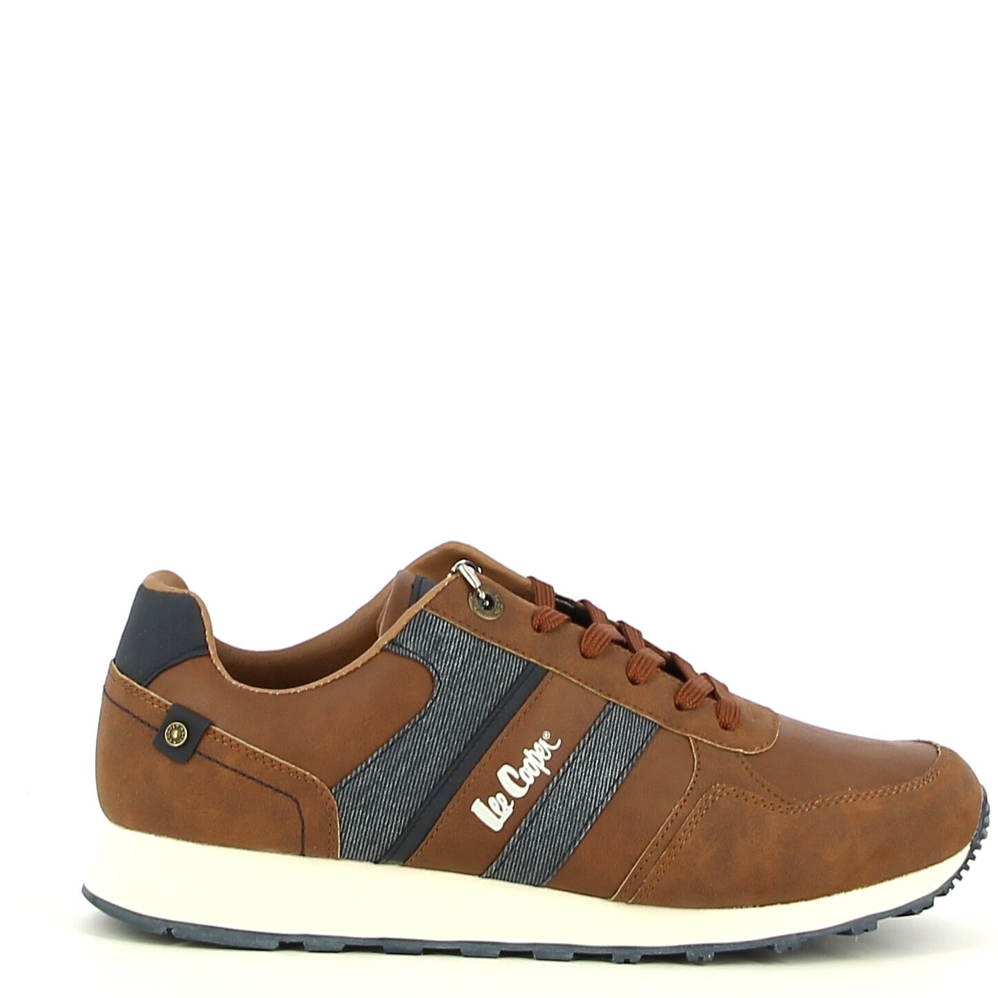 Lee Cooper - Camel/Navy - Sneakers