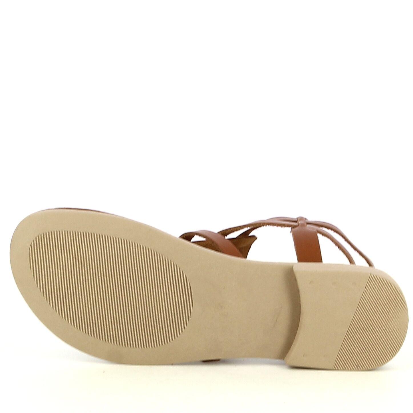Ken Shoe Fashion - Tongs - Brun