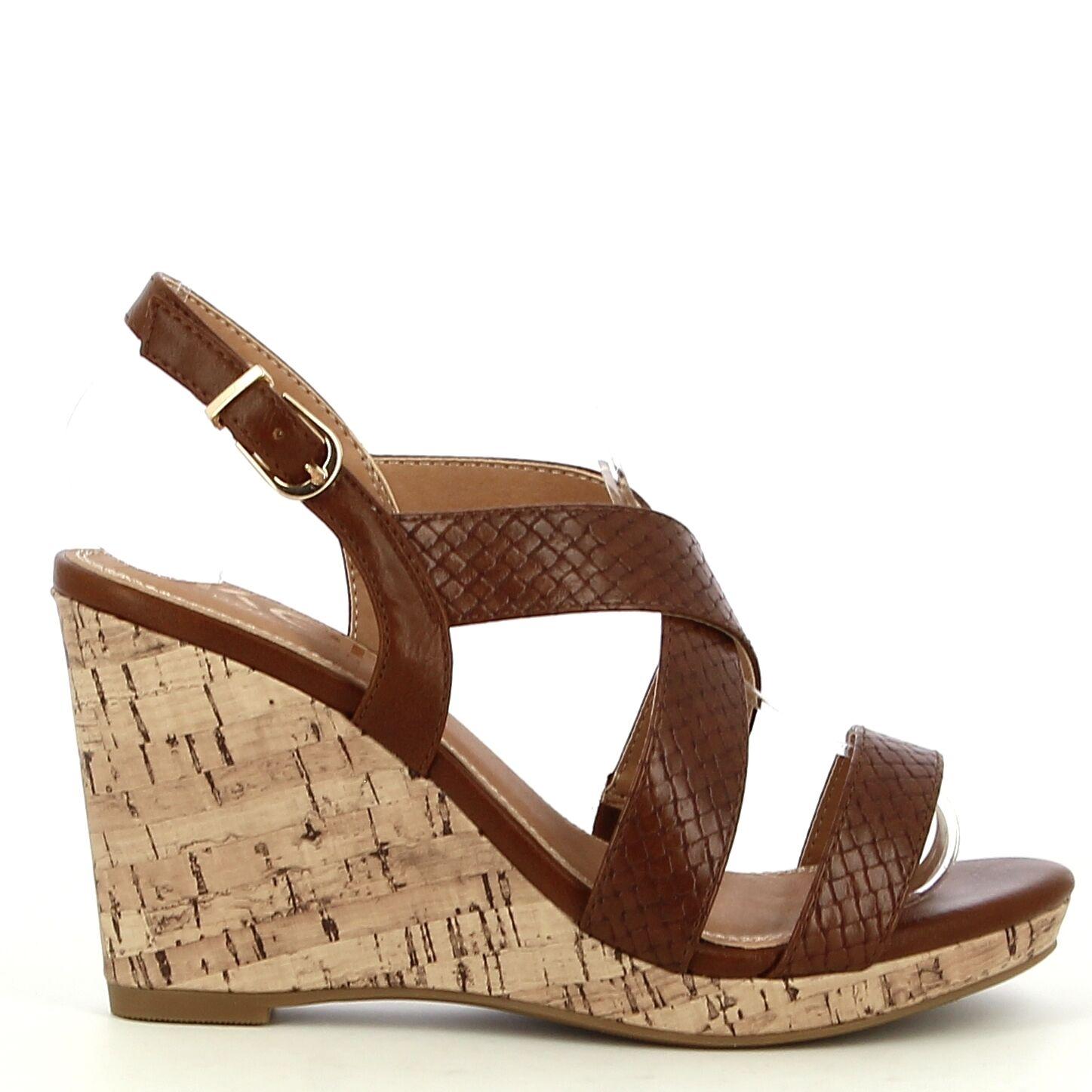 Ken Shoe Fashion - Camel - Sandalen